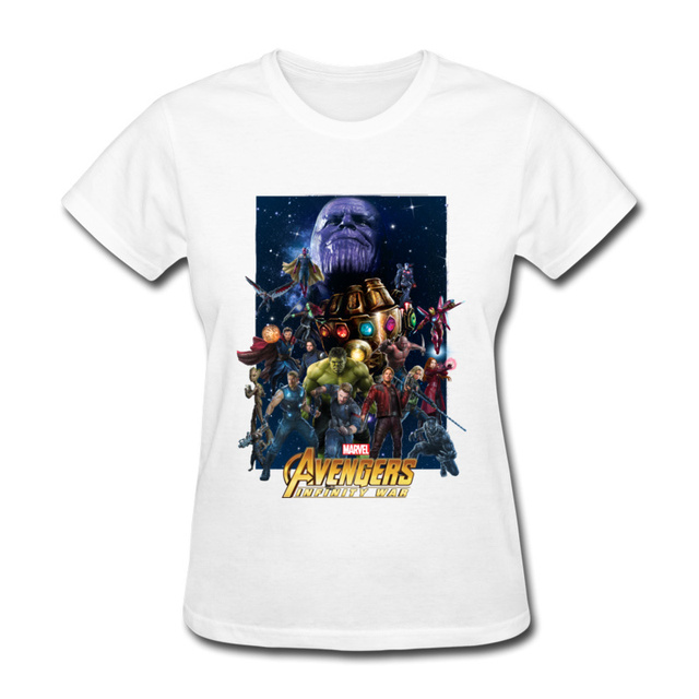 Summer Clothes For Women Wonder Woman Team Tshirt Movie Black Panther Anime  Graphic Women XXL T Shirt Slim Fit Fashion 5403c557fb74