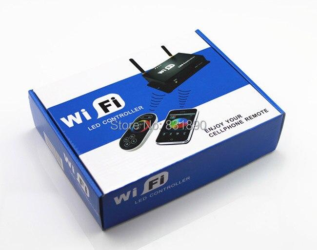 Wifi controller led mi licht hub + rf touch 4 zone remote + 4 stücke 2,4G Controller für Led streifen RGB RGBW RGBWW 12 V 24 V Freies schiff - 4