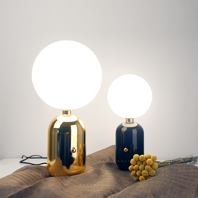 Modern LED table light foyer European bedroom table lamps ...