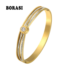 BORASI Charm Heart Bracelets & Bangles For Women Jewelle