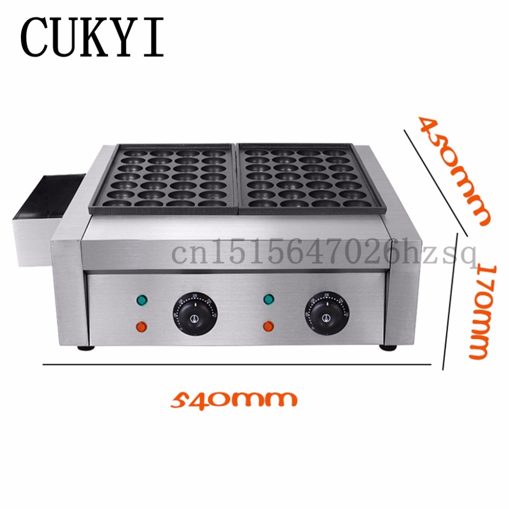 CUKYI Gas Takoyaki machine; Takoyaki maker;Takoyaki; Takoyaki plates Fish Pellet Grill commercial nonstick lpg gas japanese takoyaki octopus fish ball grill baker machine