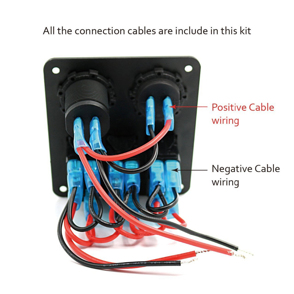 4 Gang Switch Panel Wiring Diagram Trusted Diagrams Double Schematic 3 Residential Electrical Symbols U2022 Two Box