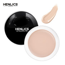 HENLICS Face Makeup base Hide Blemish Concealer Eye Contouring Maquiagem Cream Perfect Cover Make Up Concealer Beauty Tool(China)