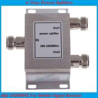 Free Shipping 1PCS 380 2500MHz N 2 Way RF Power Divider Splitter For GSM CDMA DCS