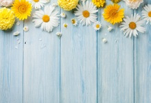 Laeacco Wooden Board Flowers Baby Birthday Party Photography Backgrounds Customized Photographic Backdrops For Photo Studio