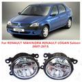 Для RENAULT MAHINDRA RENAULT LOGAN Седан 2007-2015 Противотуманные фары LED Автомобилей Стайлинг 10 Вт Желтый Белый 2016 новый огни