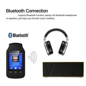 Image 5 - Original HOTT 1037 Bluetooth MP3 lecteur 8GB pince MP3 lecteur de musique Portable Sport podomètre FM Radio SD carte 1.8 pouces écran MP3