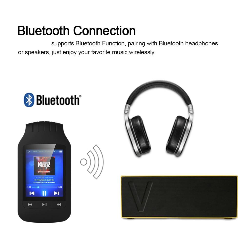 Orijinal HOTT 1037 Bluetooth mp3 çalar 8 GB Klip MP3 Müzik Çalar - Taşınabilir Ses ve Görüntü - Fotoğraf 6
