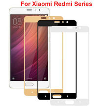 Safety glass cover for xiaomi redmi 4x 4 pro note 3 protective film on ksiomi mi 6 5s plus 5 5c tempered glass screen Protector(China)