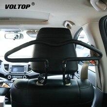 Soft PVC Car Coat Hangers Back Seat Headrest Clothes Hanger Jackets Suits Holder Rack Auto Supplies for Universal