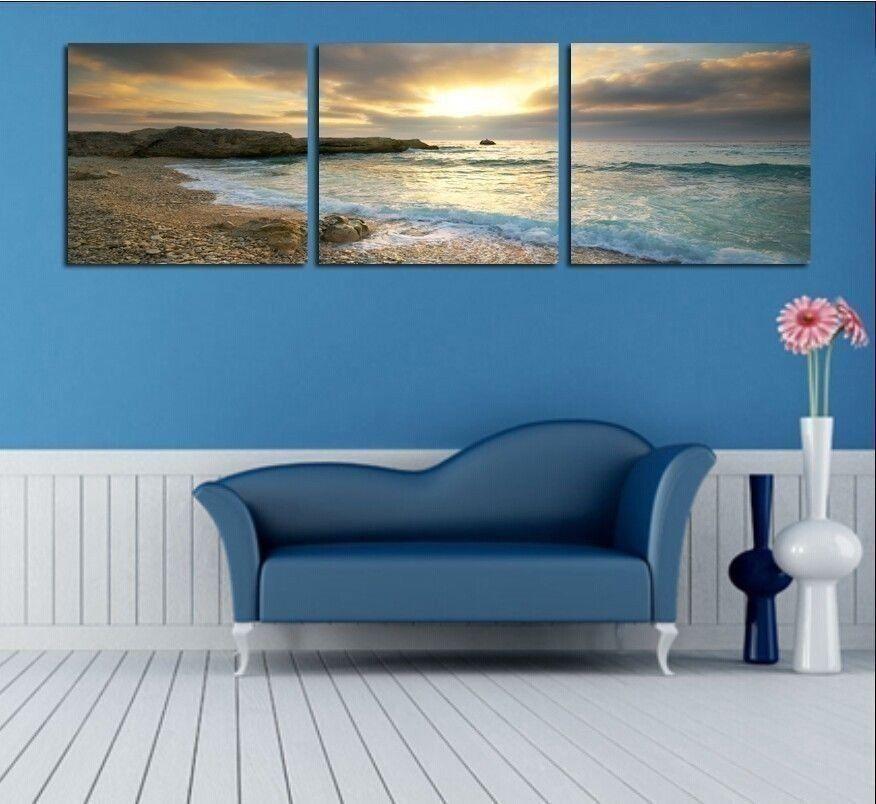 NOT FRAMED Canvas Print Home Decoration Modern Bedroom ...
