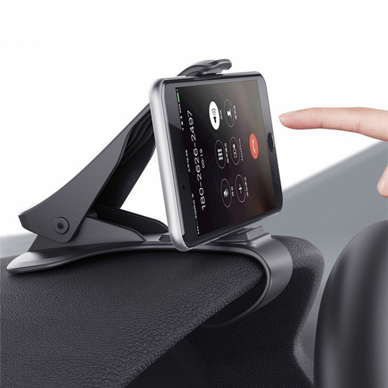 Car Phone Holder Dashboard Mount Universal Cradle Cellphone Clip GPS Bracket Mobile Phone Holder Stand For Phone In Car
