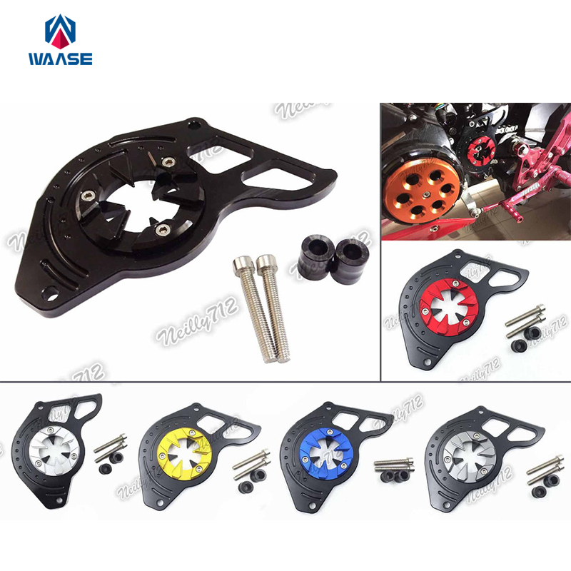 Motorcycle Front Sprocket Chain Guard Cover Left Side Engine For HONDA Grom MSX125 125SF MSX 125 SF 2013 2014 2015 2016 2017 for honda msx125 msx125sf 2013 2014 2015 2016 blue cnc motor engine guard cover motorcycle engine wrestling decorative cover