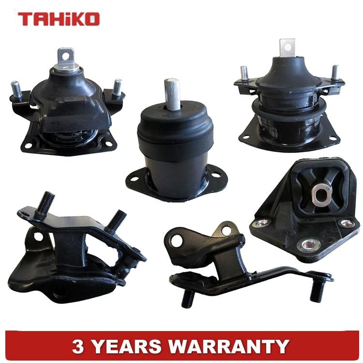 Engine Motor Mount /& Trans Mount Kit For 03-07 Honda Accord 04-08 TSX 2.4L US