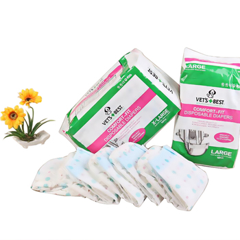 Dog Diaper Female Super Soft And Comfortable Super Absorbent New Safe Home More Choice Pet Diapers Price Concessions Pet Supplie 1