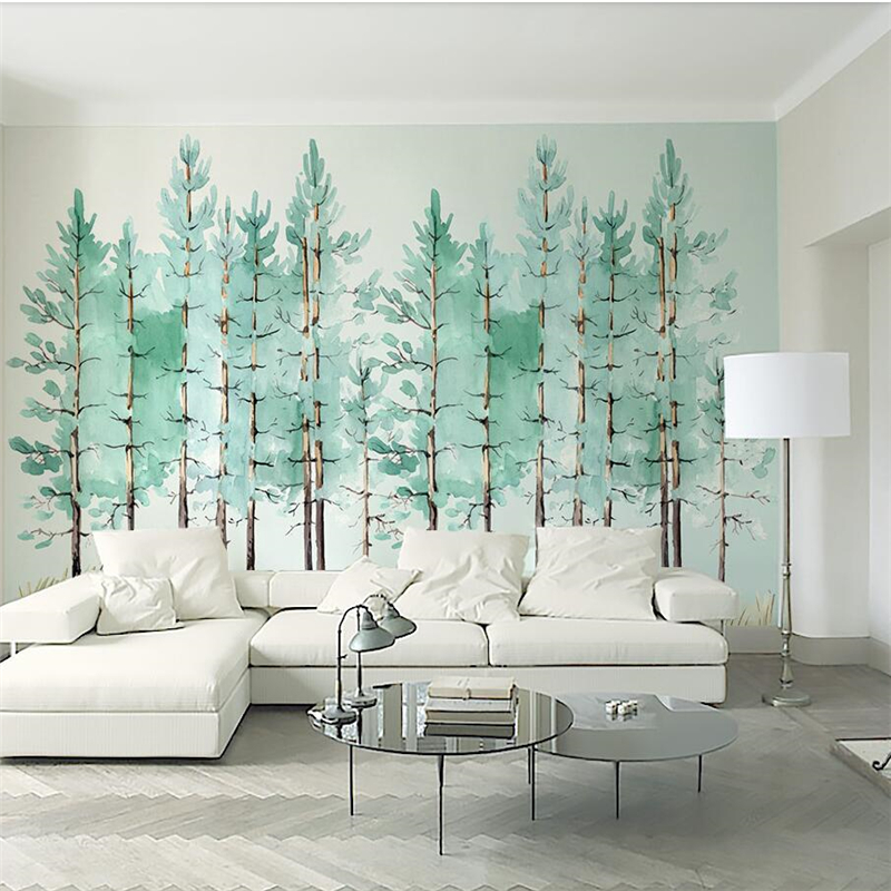 Beibehang Wallpaper Mural Custom Living Room Bedroom Small