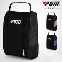 цена на PGM Portable Golf Shoes Bag Air Permeable Multifunction Light Practical Travel Pack Shoe Bags Dust Proof Golf Shoes Handbag