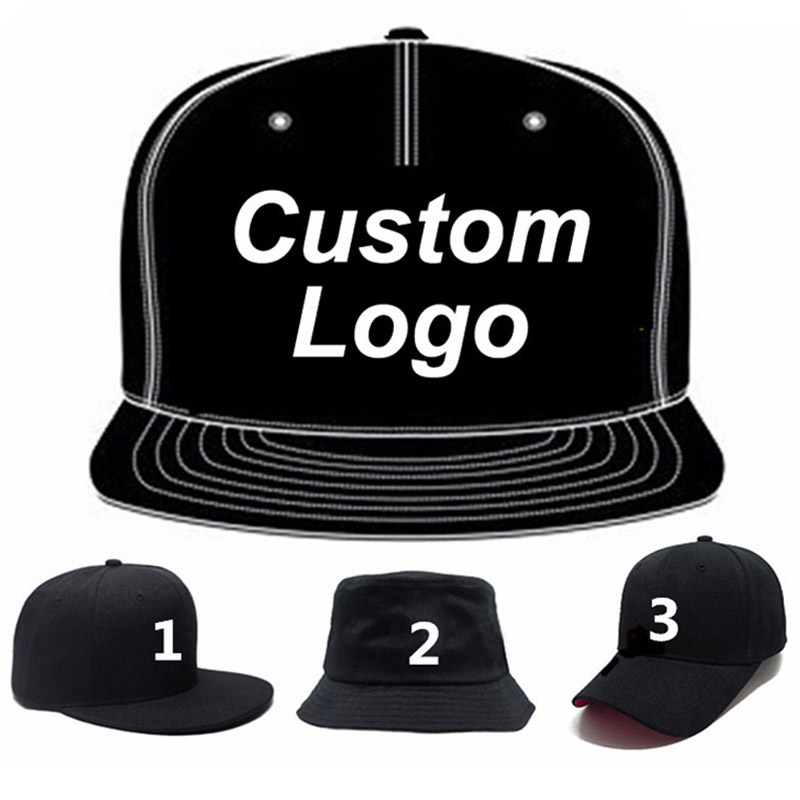 Low MOQ custom logo cap embroidery trucker golf tennis hiphop hat full close fitted custom snap back baseball cap custom hat-in Men's Baseball Caps from Apparel Accessories