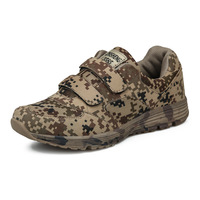 Outdoor Sport Shoes Jungle Desert Field Soldier Buckles Forest Camouflage Digital Running Military Training Sneakers Men Women