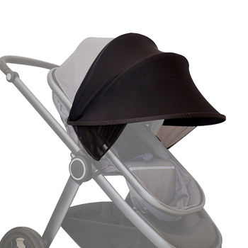 baby stroller accessories muslin blanket car seat cover sunshield sunshade safety basket cart cradle cap visor sun canopy Baby Stroller Sun Visor Carriage Sun Shade Canopy Cover for Prams Stroller Accessories Car Seat Buggy Pushchair Cap Sun Hood B
