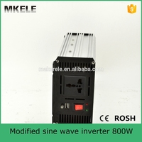 MKM800 242G off grid type 800w 220vac voltage stabilizer inverter with 24vdc input for household sun power inverter