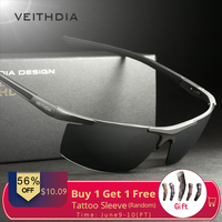8a047f69f Hot 2014 New Roodoon 8282 Mens Sunglasses Brand Polarized Sports Coating  Sunglasses Sun Glasses Men Driving. VEITHDIA óculos de Sol ...