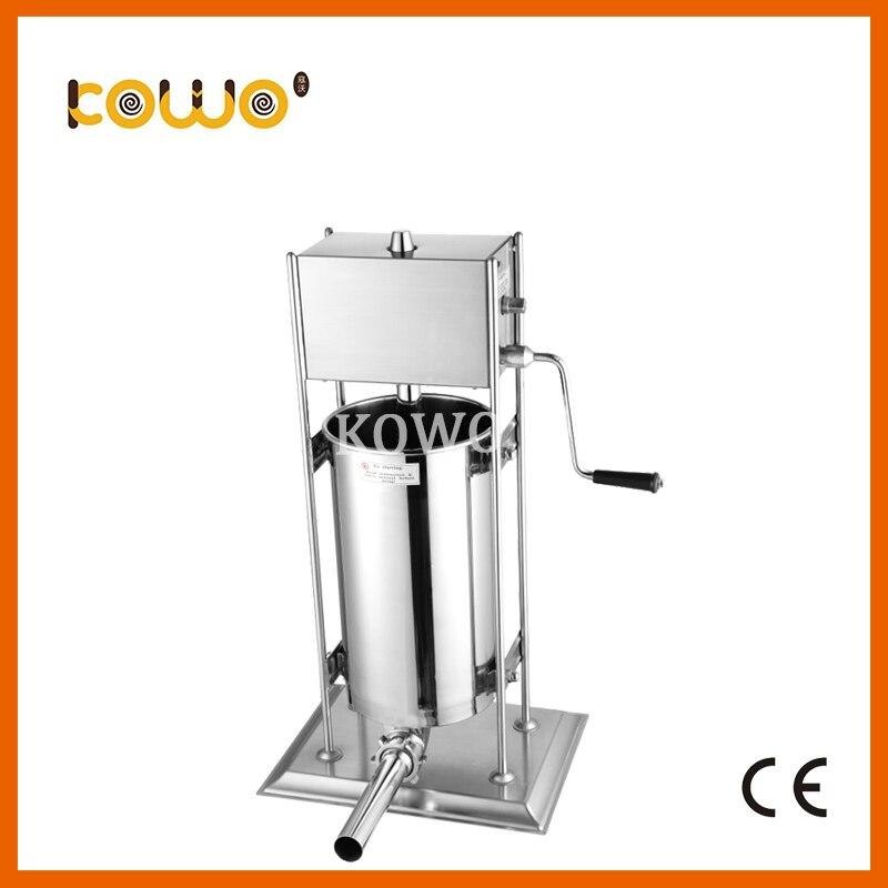 High quality stainless steel vertical manual sausage filler sausage stuffer sausage making machine ham making machine