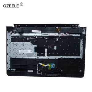 Image 2 - New US keyboard with C shell COVER for samsung RC512 RC510 RC520 Topcase Housing Palmrest with touchpad and Speaker Black