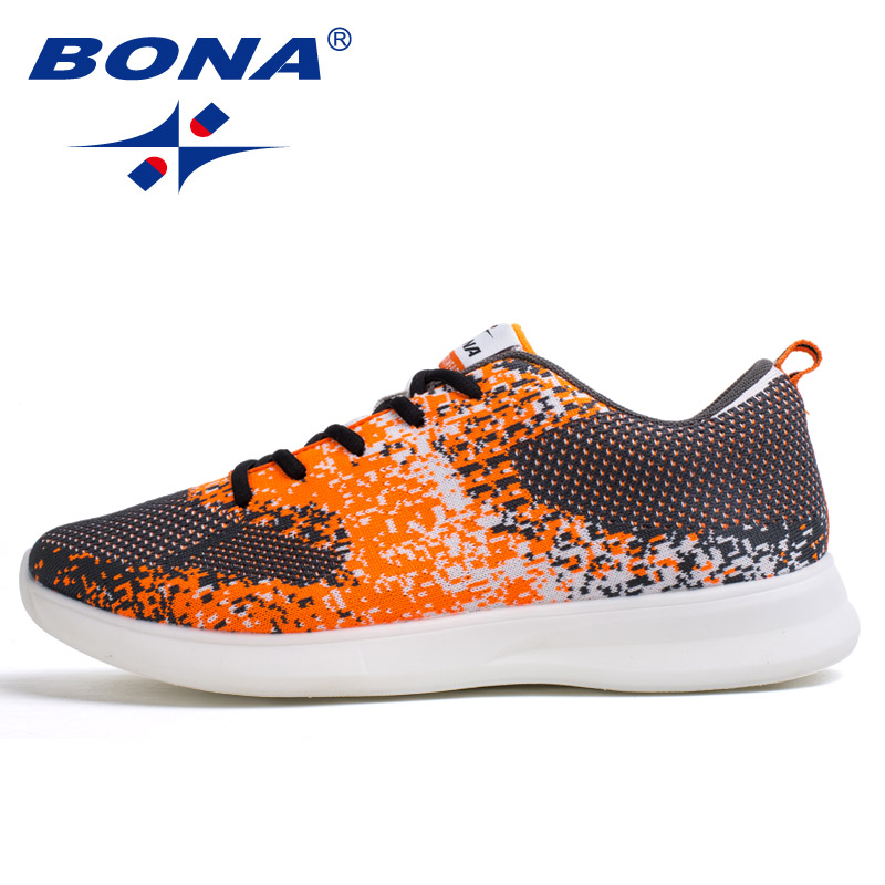 $33.11 BONA New Classics Style Men Running Shoes Lace Up Men Sport Shoes Outdoor Jogging Sneakers Comfortable Men Shoes Free Shipping