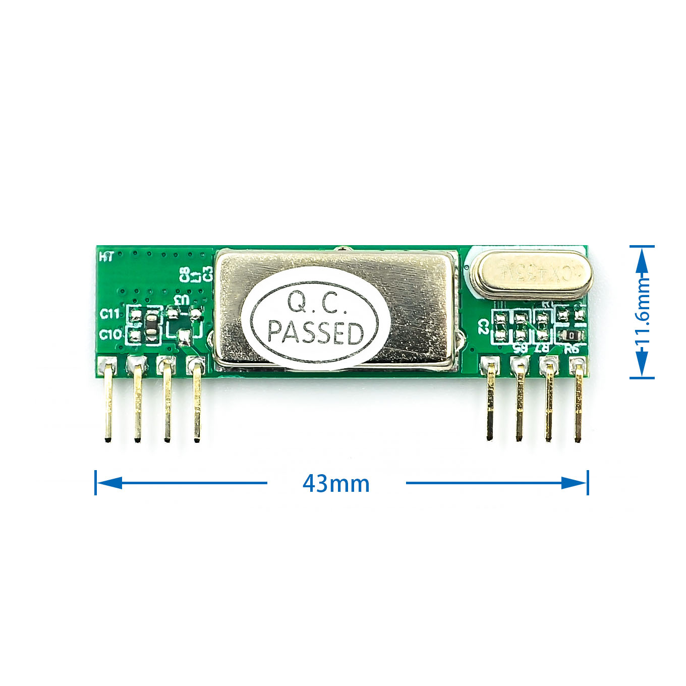 RXB6 433Mhz Superheterodyne Wireless Receiver Module ARM/AVR