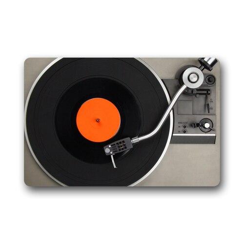 Memory Home Custom Vinyl Record Decorative Doormat Indoor Floor Mat Kitchen Mats Living Room Bath Carpet Bedroom Rugs
