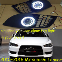 Mitsubish Lancer Fog Light 2013 2016 Free Ship Lancer Daytime Light 2ps Set Wire ON OFF