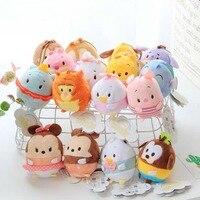 16 יחידות מיני פעולה חמודה איור ממולא ילדים בובה רכה צעצועים בפלאש עכבר שקי חול צעצועי מתנת תליון קטנה לילדים