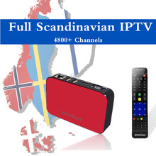 TVonline pro IPTV Box 4700+ Scandinavian channels the best Sweden Finland Norway Denmark Europe IPTV PK MAG250 MAG254(China)