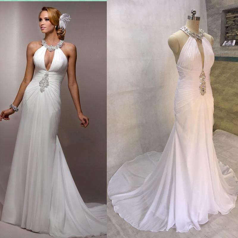 Popularne Halter Top Wedding Gown- kupuj tanie Halter Top Wedding ...