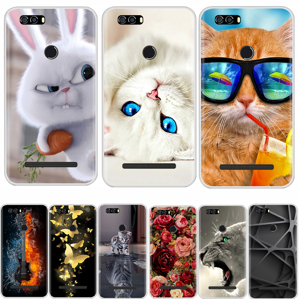 Cover Case For Leagoo Kiicaa Power Soft Silicone TPU Fashion Pattern Painting Back Cover For Leagoo Kiicaa Power Phone Cases