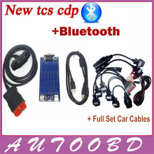 Newest vci (2014.2 R2/ R3 software )CDP PRO with bluetooth obd2 OBDII OBD II Auto Car scanner CDP Pro Plus Full set 8 car cables