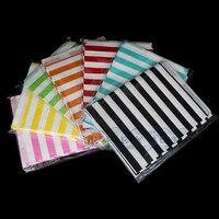 Bulk Sale 5000pcs Lot Striped Chevron Polka Dot Gift Bags Wedding Favor Bags Party Paper Treat