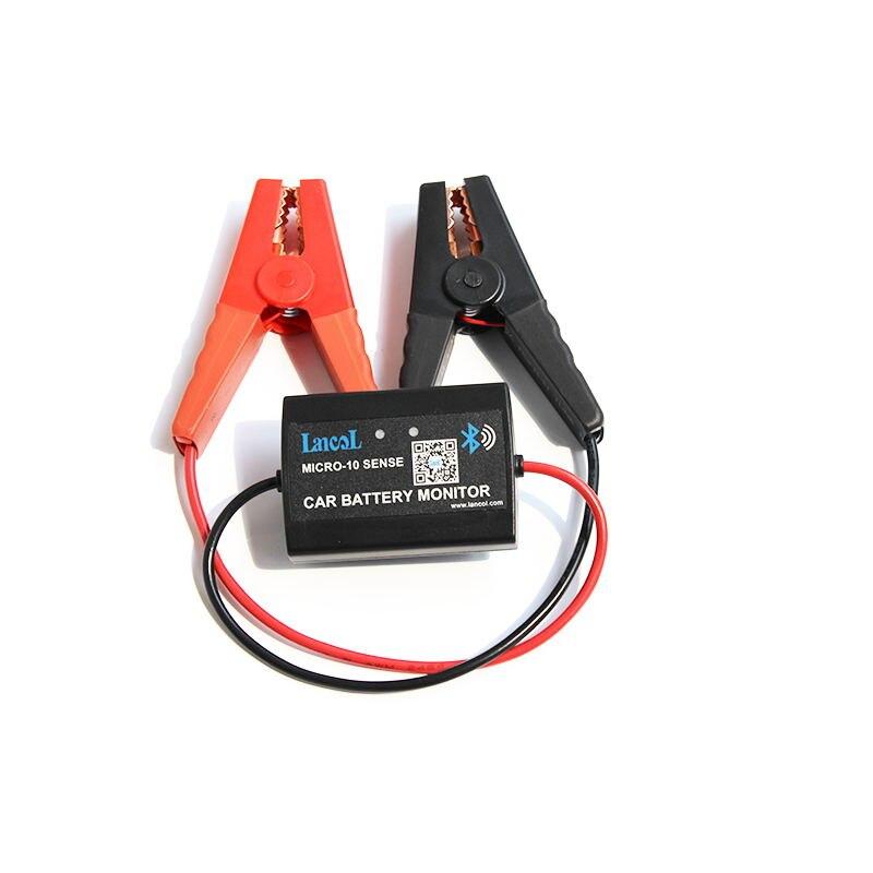 LANCOL Digitale Batteria Tester M-10 Batteria Per Auto Monitor Con Bluetooth 12 v Automotive Analizzatore di Batteria di Inizio Con Display Del Telefono