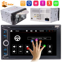 With 3 types of UI optional+WINCE 8.0 Double 2DIN Car headunit Electronics DVD CD 1080P Video GPS Stereo Radio PC+Remote Control