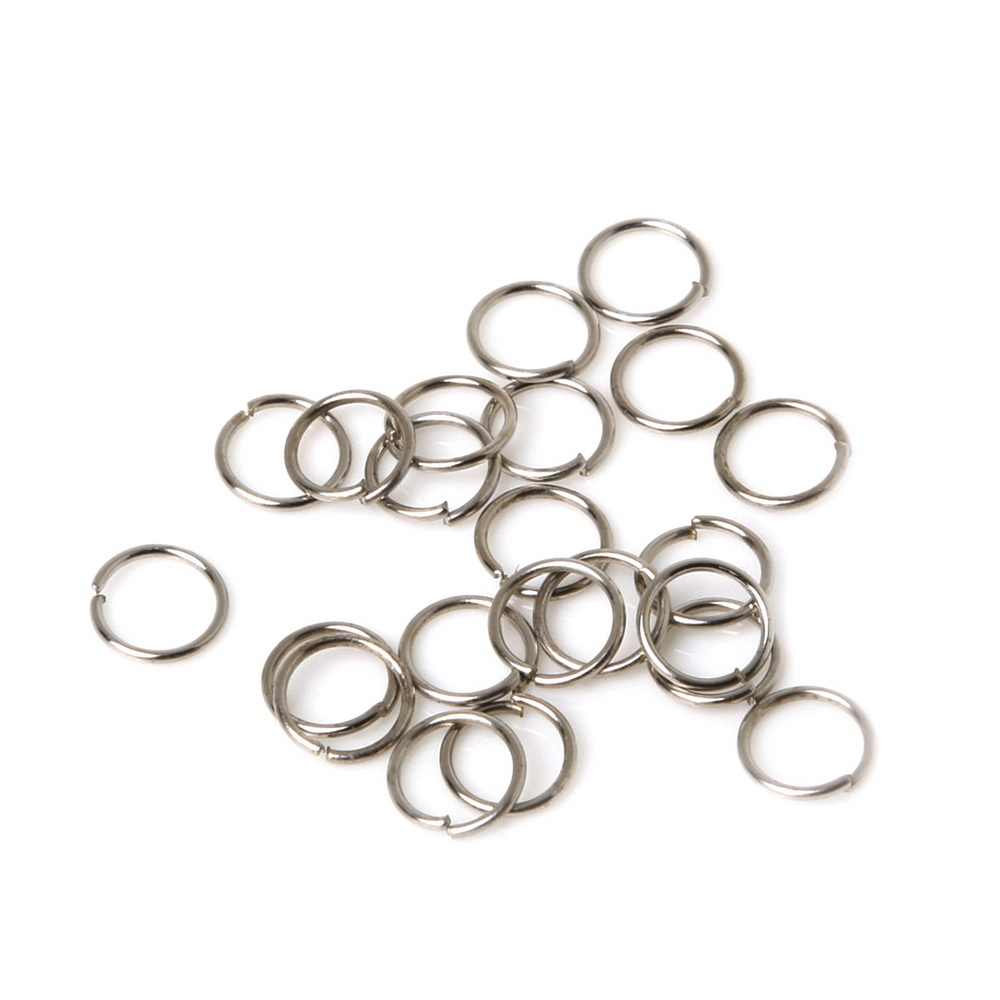 650PCs 0.7x7mm Jump Rings Jewelry Findings And Components Open Jump Rings Split Rings For DIY Bracelet & Necklace