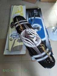 RM шпон водные лыжи, wakeboarding обувь, водные лыжи двойной пластины, на коленях доска, drag race (черный)