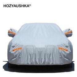 Copertura auto Da Cucire Quattro stagioni copertura auto universale auto hood custodia protettiva di protezione Del Sole e la pioggia di isolamento Invernale shipp Libero