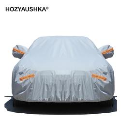 Cubierta de coche de cuatro estaciones universal cubierta del coche campana de protección contra el sol y la lluvia de invierno aislamiento envío gratis