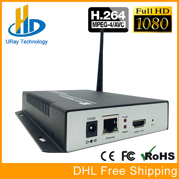 URay H264 H.264 1080P HD HDMI Encoder WiFi H 264 HDMI To IP Streaming Video Encoder WiFi For Live Youtube Facebook Live Via RTMP uray 3g 4g lte hd 3g sdi to ip streaming encoder h 265 h 264 rtmp rtsp udp hls 1080p encoder h265 h264 support fdd tdd for live