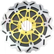 Z przodu tarcza hamulcowa wirnika dla YAMAHA FZX 250 gorliwość FZX250 1991 1992 SZR 660 SZR660 1996 i up TDR 250 TDR250 1988-1992