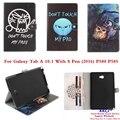 TX OWI Любовь Case For Samsung Galaxy Tab A A6 10.1 С S Pen P580 P585 Tablet PC PU Кожаный Чехол Подставка Для SM-P580 SM-P585