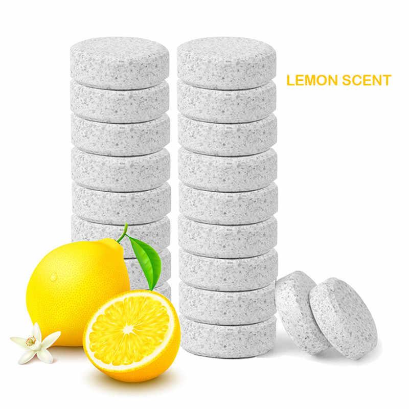 1PCS=4L Water + lemon perfume Car Accessories Car Windshield Cleaning Glass Cleaner Auto Effervescent Spray Cleaner Concentrate