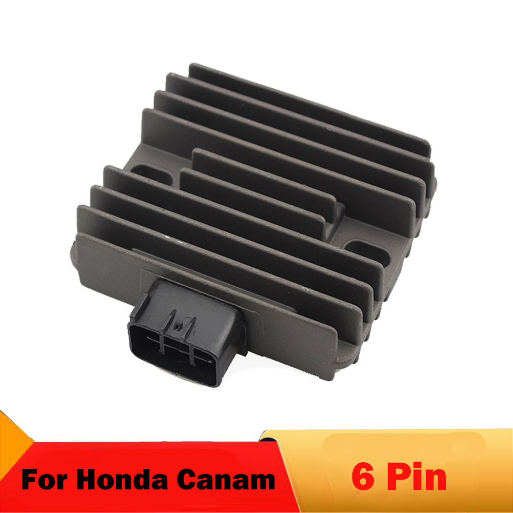 Motorcycle regulator Rectifier For Honda TRX400 TRX400 <font><b>FA</b></font> Rancher ATV TRX450 TRX500 Canam Outlander 330 XT 4x4 <font><b>400</b></font> Max <font><b>400</b></font> 330 image
