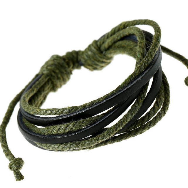 Punk Colored Waxed Rope...